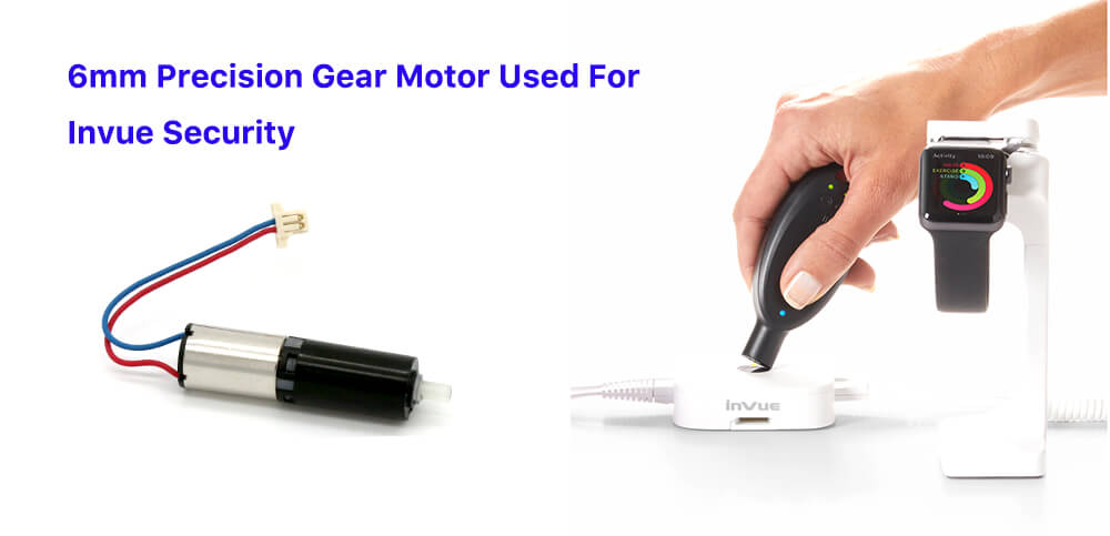 6mm Precision Gear Motor Used For Invue Security