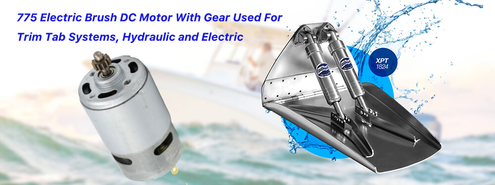 775 Electric DC Motor Used For Trim Tab Systems Hydraulic And Electric