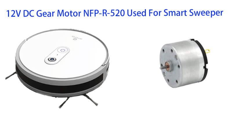 33mm Diameter Micro DC Motor 12V Used For Smart Sweeper