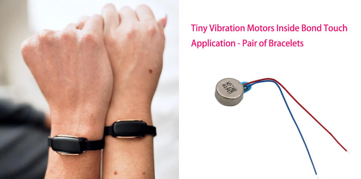 Tiny Vibration Motors Inside Bond Touch